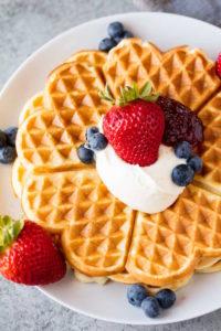 Acoustima Waffle® Panel inspired by the sweet waffle food